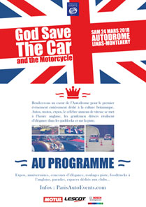God Save The Car and the Motorcycle affiche 2018
