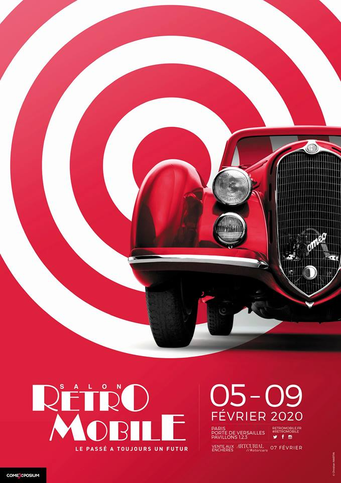 affiche retromobile paris 2020