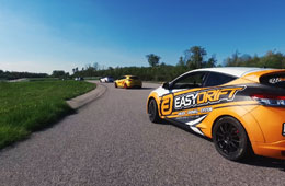 1 Megane RS Virage RACE TRACK EASYDRIFT